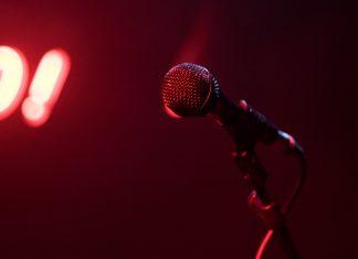 black microphone 1840320